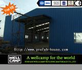 Edificio de acero prefabricado de la estructura de acero del almacén