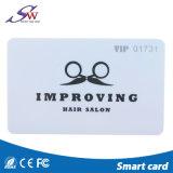Bonne qualité de conception personnalisée la puce en PVC Mf carte RFID
