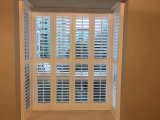 Obturador/cortinas padrão da plantação do indicador do Basswood de Austrália