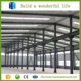 Magazzino prefabbricato della costruzione della fabbrica della struttura d'acciaio di basso costo