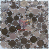 円形およびIrregular Shape Glass Mosaic Tile (CFC316)