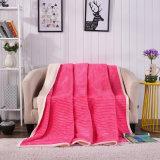 Одеяло ватки Berber Sherpa полиэфира