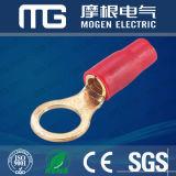 Terminal de cobre del anillo del PVC de Solderless