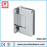최신 디자인 꼭지 위생 유리제 문 경첩 (ESH-301)