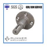 Ventilador da precisão do metal do CNC do aço de carbono/eixo do motor/rotor/micro/bomba