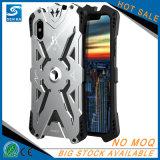 Nueva caja de aluminio suave del metal del shell de TPU para el iPhone 10