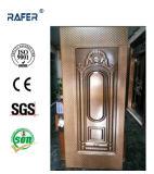 チェック模様のデザインカラー(RA-C021)の鋼鉄ドアの皮