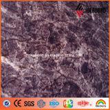 広東省の競争価格3-4mmの大理石の質のアルミニウムクラッディングパネル