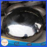 Testa servita ellittica del acciaio al carbonio utilizzata in estintori