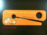 Asiento de emergencia portátil cortador de la correa / tijeras para la salvación de vidas