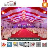 당과 결혼식을%s 호화스러운 지붕 안대기를 가진 500명의 사람들 당 천막