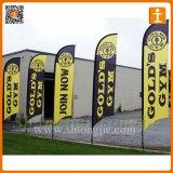 Пролетев рекламных прямой пуховые флаги (TJ-45)