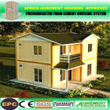 Vorfabriziertes bewegliches Stahlrahmen-vorfabriziertprofil-bewegliches modulares Landhaus-Haus