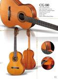 Китай оптовой твердых верхней части сапеле классическая гитара