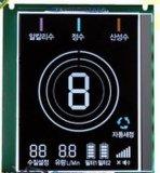 Индикация часов LCD этапа Htn 7 Monochrome сетноая-аналогов