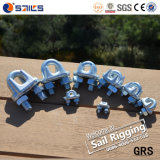 Electro Galv Italian Standard Drop Forged Wire Rope Clamps