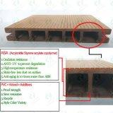 Plancher composé en plastique en bois imperméable à l'eau