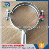 Gancho redondo higiênico da tubulação Ss304