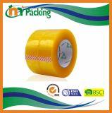 Fita adesiva da embalagem do certificado OPP BOPP do ISO com distribuidor