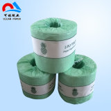 Papier de soie de soie gravant en relief de toilette de ménage