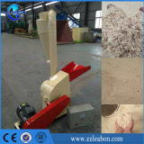 Moinho de martelo de madeira da máquina de moedura do escudo do coco