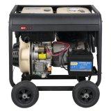 휴대용 Small Single Phase Diesel Generator Set (6KW)