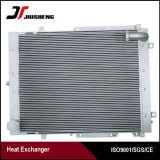 Radiador de aluminio del petróleo del motor universal para Hitachi