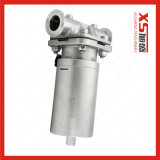 SS316L Membranventil mit Edelstahl-einzelne Funktions-pneumatischem Stellzylinder