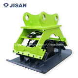 クローラーまたは車輪の掘削機の接続機構の油圧版のコンパクター