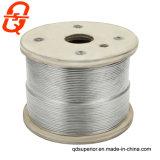 Corde de fils en acier inoxydable AISI304 de matières premières et AIS316