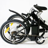Heißes verkaufendes elektrisches Pocket Fahrrad 2016 mit hinterem Träger