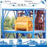 Misturador concreto forçado do Gêmeo-Eixo Js3000 para a planta de tratamento por lotes concreta