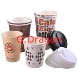1.5-32 onzas de bebida caliente de vasos de papel con tapas (PC102)