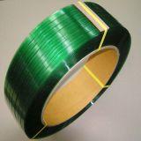 最も安い価格の製造者の緑はペットポリエステルストラップをリサイクルする
