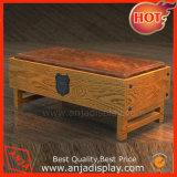 Meubles en bois d'étalage de compteur en bois d'étalage
