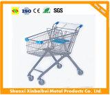 Carro conveniente de la mano de las compras del almacén del supermercado europeo al por mayor directo del fabricante con el vario contenido a elegir