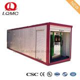 Containerized Post van de Tank van de Benzine met Twee Automaten