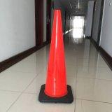 Cône mou de circulation de sûreté r3fléchissante flexible de PVC