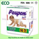 タンザニアへの経済的なPonpon Afria Hot Sell Baby Diaper