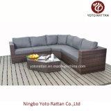 Brown Wicker New Sofa Set per Outdoor (1203)