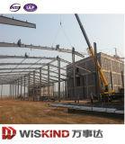 Almacén prefabricado de la estructura de acero de la planta de la construcción del palmo grande