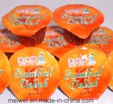 10g小さいパッケージが付いているSambal Oelekの唐辛子ソース