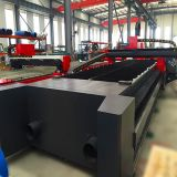 Машина маркировки гравировки вырезывания лазера меты волокна CNC высокой точности