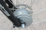 Новейшие вилка подвески E-велосипед электрический велосипед скутер двигатель с приводом от среднего 8 fun Shimano шестерни