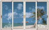 Portelli di piegatura di alluminio di nuovo disegno per la bella villa di lusso