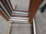 Древесина любит профиль PVC Rehau/Veka Bifold/складывая сползая окно