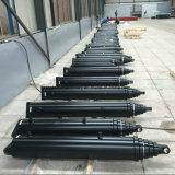 Cylindre télescopique hydraulique pour soulever le cylindre hydraulique de 30 tonnes