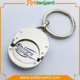 Het aangepaste PromotieMetaal Keychain van het Embleem