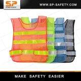 A melhor da estrada reflexiva da veste da segurança do poliéster veste reflexiva de venda