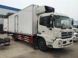 Camion del frigorifero del camion 4X2 del congelatore refrigerato 32cbm di Dongfeng Van Truck 4X2